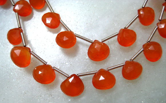 Cornelian Beads, Gemstone Beads Strands
