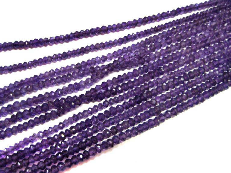 Amethyst Beads, Gemstone Beads Strands